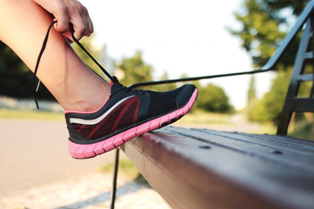 Schienbeinkantensyndrom Verletzung beim Laufen