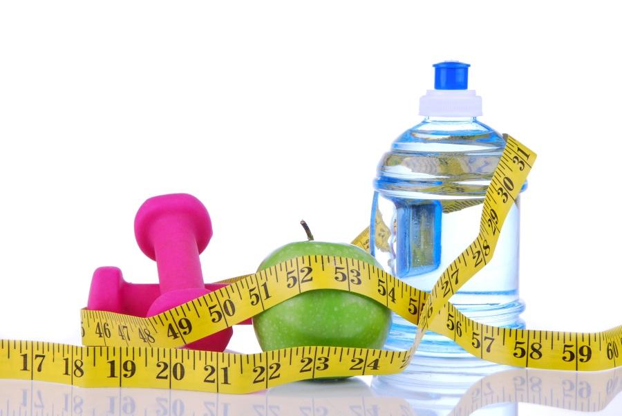 Gewichtsschwankungen in einer Diät