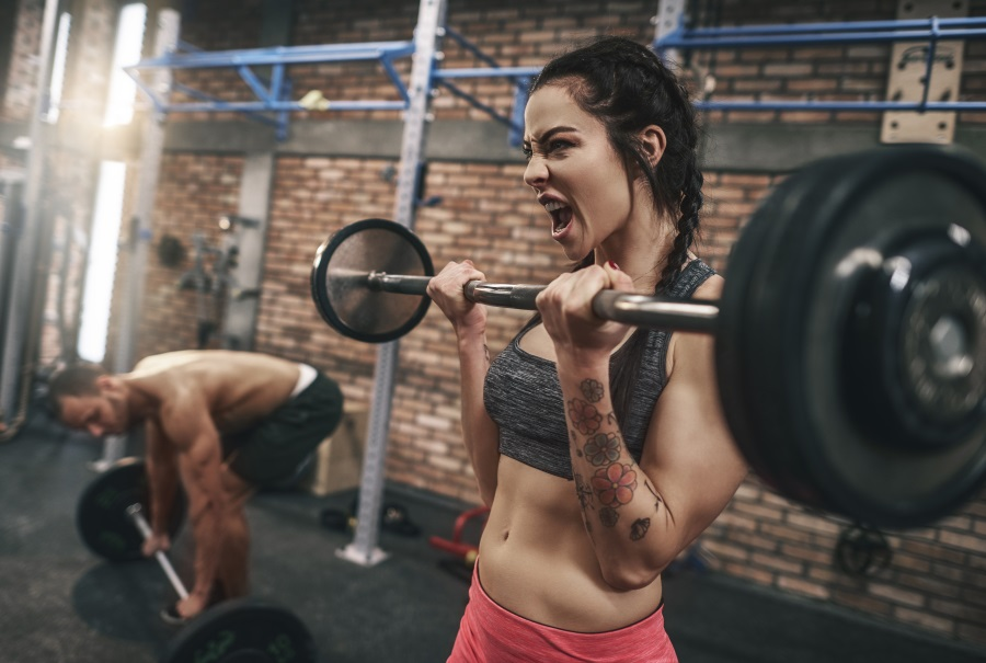 Kraftsport für Frauen