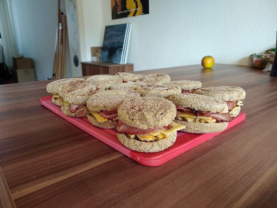 Frühstücksburger für Mogenmuffel