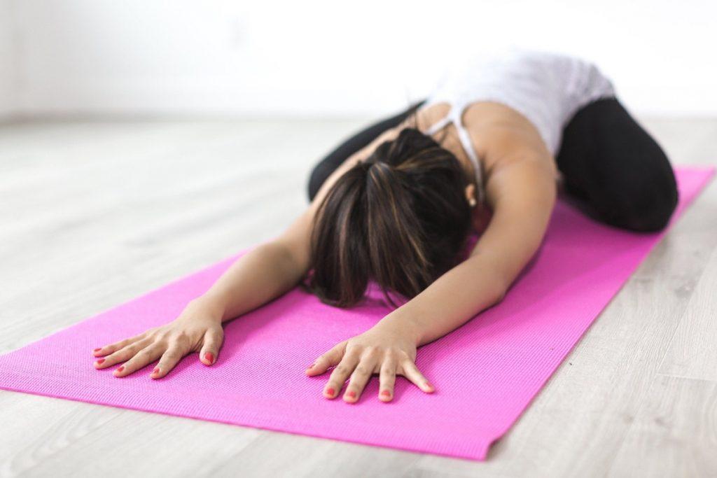 5 Minuten Yoga für Entspannung