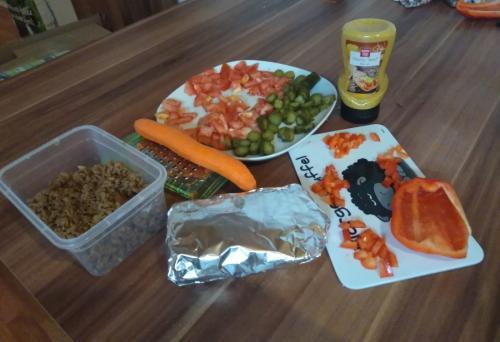 Die Burrito Zutaten können beliebig verfeinert werden