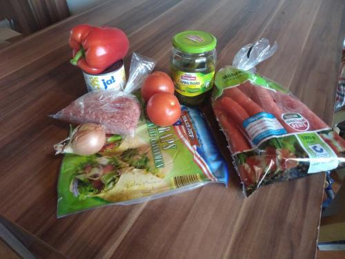 Wenige Zutaten für einen leckeren Burrito