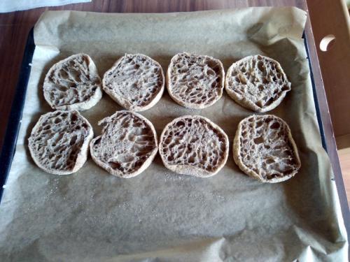 English Muffins zum Frühstück